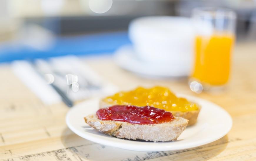 Desayuno en el Slow Lounge