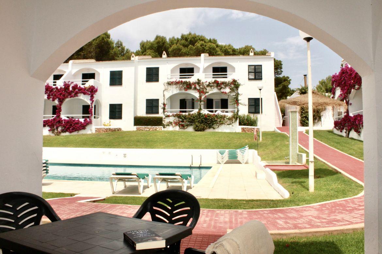 Apartamento de 2 habitaciones superior vista jardin